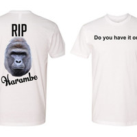 Dicks out for Harambe tshirt