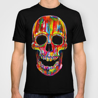 Chromatic Skull T-shirt by John Filipe