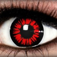 Red Twilight Theatrical Contact Lens by ExtremeSFX