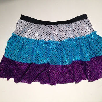 Three color custom skirt (you pick the colors)
