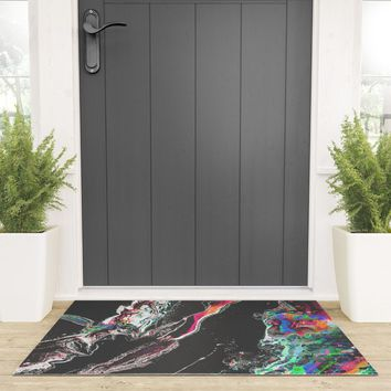 ƒun at parties Welcome Mat by duckyb