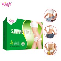 30 Pieces / Box Ifory Health Care Effective Weight Loss Slim Patch Fast Lose Weight Navel Stick Slim Patch Burning Fat Patch