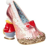 Irregular Choice Alice In Wonderland Women's White Rabbit Heels