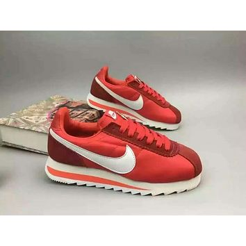 """NIKE"" Fashionable Personality Casual Red Sneakers Elevator Shoes"