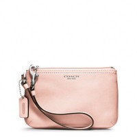 Coach :: Legacy Leather Small Wristlet