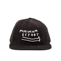 Lazy Oaf Minimum Effort Cap in Black