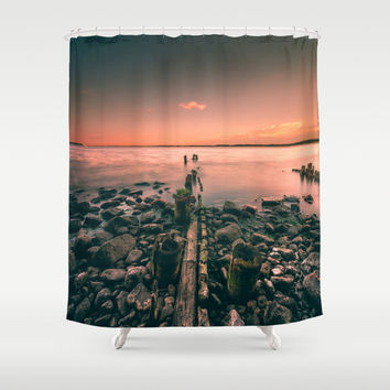 Guidance Shower Curtain by HappyMelvin