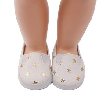 "Doll shoes ,bue sport leisure doll shoes for 18"" inch american girl doll for baby gift   S116"