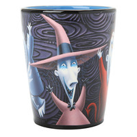 The Nightmare Before Christmas Lock, Shock, And Barrel Tumbler Glass