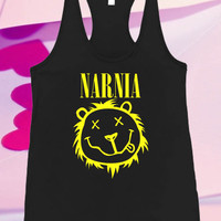 Narnia Nirvana Screenprint For Tank top women and men unisex adult