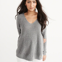 Womens V-Neck Sweater | Womens Tops | Abercrombie.com