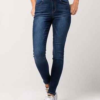 TINSELTOWN High Rise Womens Skinny Jeans | Skinny