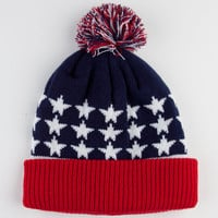 Coal The Nations Beanie Navy Combo One Size For Men 22112921101
