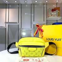 Kuyou Lv Louis Vuitton Gb29714 M30247 K45 Bags All Collections Yellow Outdoor Bumbag 21x17x5cm