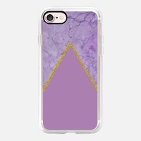Amethyst Marble iPhone 7 Case by Lisa Argyropoulos | Casetify