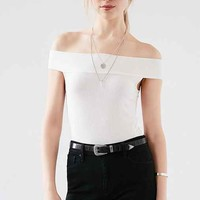 Silence + Noise Lara Off-The-Shoulder Top