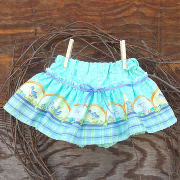 Baby Bloomers, skirted, diaper cover,Spring, Easter, Green, Photo Prop size 12 months