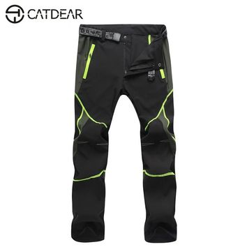 Mens pants Workwear Waterproof quick dry zipper pocket trousers womens pants