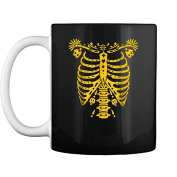 SKELETON  | Halloween Costume Mexican Day Of The Dead Mug