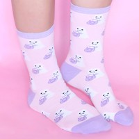 Ghosty Socks