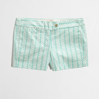 "Factory 3"" printed stretch chino short - AllProducts - nullClearance - J.Crew Factory"