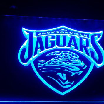 b-184 jacksonville jaguars beer bar pub club 3d signs LED Neon Light Sign man cave