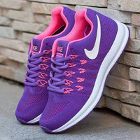 NIKE Women Fashion Ventilation Running Sneakers Sport Shoes