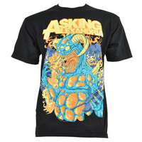 Asking Alexandria Monster t shirt - band merchandise - band tees UK