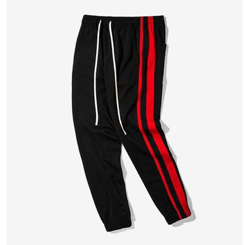 Men's Track Striped Pants