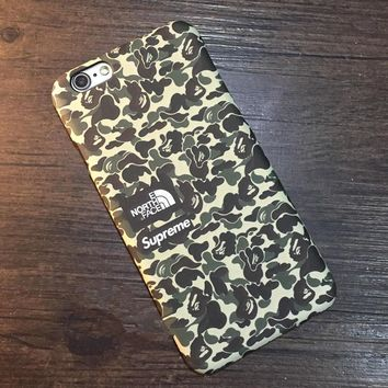 Supreme The North Face Camo Case for iPhone