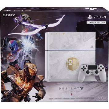 Sony - PlayStation 4 500GB Destiny: The Taken King Limited Edition Bundle - Glacier White
