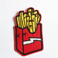 French Fries Patch Pin