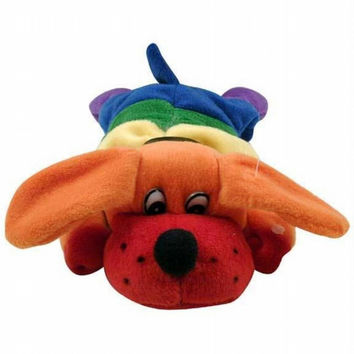 Rainbow Dog Plush Toy
