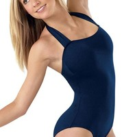 Scoop Back Halter Leotard - Capezio