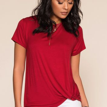 Serena Top - Red
