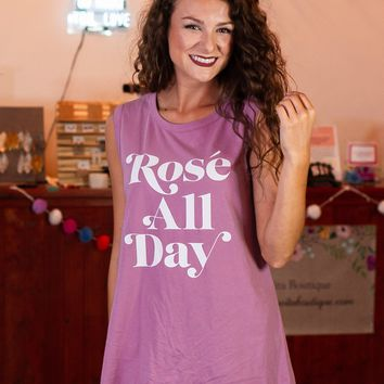 Rose All Day Graphic Tee