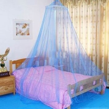 1pc Thin  Round Lace Insect Bed Canopy Netting Curtain Dome Mosquito Net Tent prevent skeeter Tent Accessories