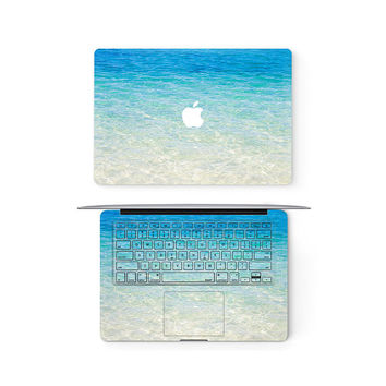 Blue Sea Ocean Apple MacBook Keyboard Top Front Lid Cover Decal Skin Sticker Protector Air Pro Retina Touch Bar | 3M | 11 12 13 15 17 inch