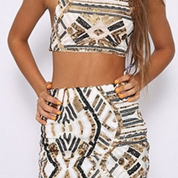 Kathy Crop It Out Two Piece Set