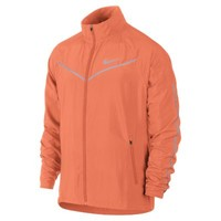 Nike Hi-Viz Men's Running Jacket - Hyper Crimson