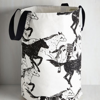 Rustic Stampede of Approval Laundry Bag by ModCloth