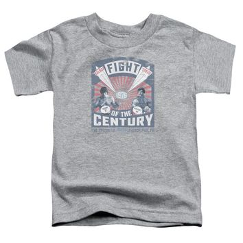 Rocky Toddler T-Shirt 1976 Balboa Creed Fight Athletic Heather Tee