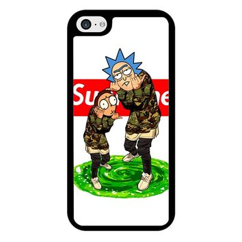Rick And Morty Supreme iPhone 5/5S/SE Case