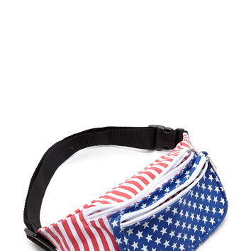 Stars and Stripes Fanny Pack | Forever 21 - 1000204346