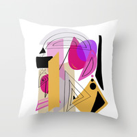 Modern minimal forms 23 Throw Pillow by naturalcolors