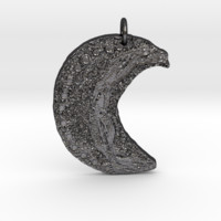 Crescent Moon Goddess Art Deco by Gabrielle by fba13bb on Shapeways