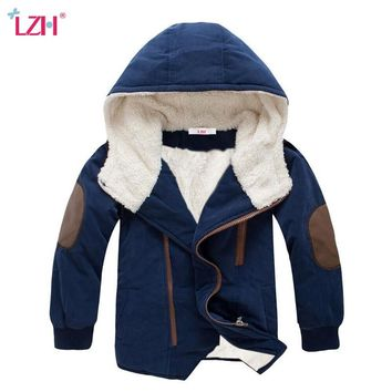 Children Jacket 2019 Autumn Winter Jacket For Boys Jacket Kids Warm Hooded Outerwear Coat For Boys Clothes 4 5 6 7 8 10 12 Year