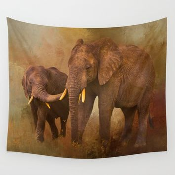 TRUST Wall Tapestry by Theresa Campbell D'August Art