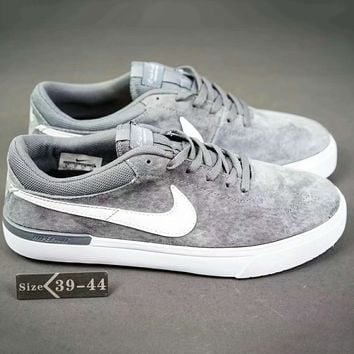 Nike SB Bruin Max Vapor Fashion Casual Sport Running Shoes Grey G-SSRS-CJZX