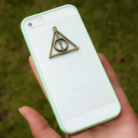 Harry Potter Deathly Hallows Charm Phone Case